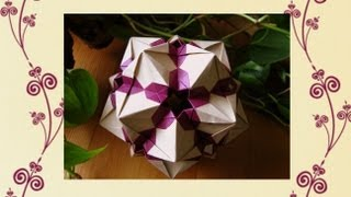 Origami  Sandra Tony  Kusudama
