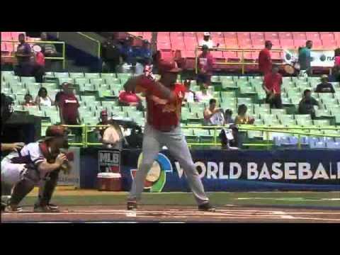World Baseball Classic 2013: Homerun de Cañizares ante Venezuela