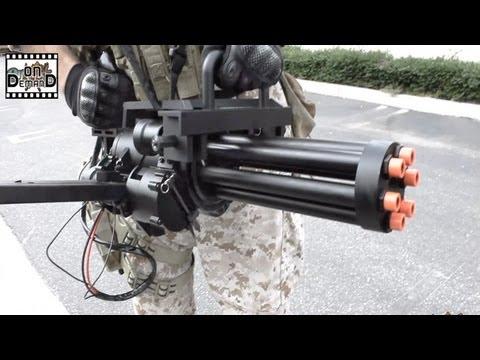 AirSplat OD - Echo1 M134 MiniGun Airsoft Machine Gun Ep 116