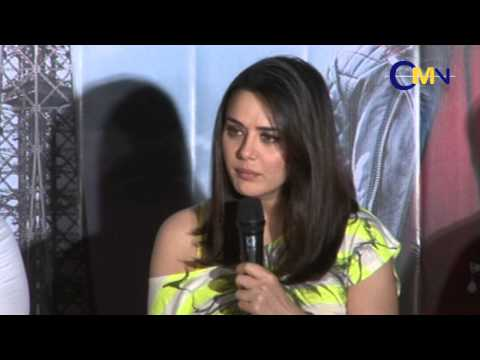 Preity Zinta At Film Ishq In Paris Press Meet