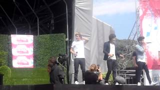 One Direction- What Makes You Beautiful- Party In The Park Leeds- 22/7/12