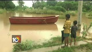 వరద నీటిలో పొలాలు…| Farmers Loss Crops By Rainwater Overflow | Srikakulam | AP