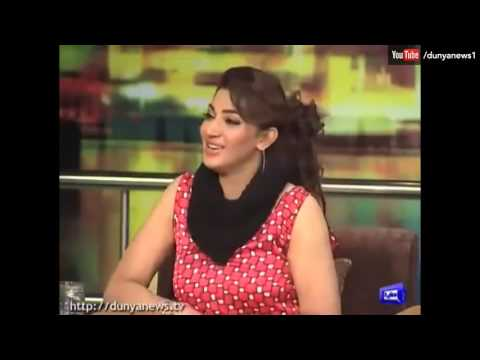Jogi Baba Praising Filmstar Sana Beautiful Arms in Mazaaq Raat