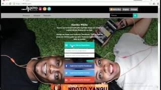 *Mpya* Jinsi ya kudownload nyimbo Mkito! (Desktop/Latop)