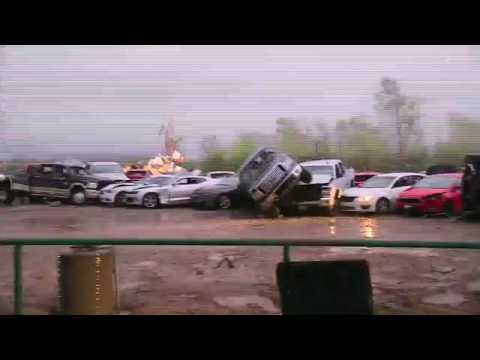 RAW VIDEO: Tornado damage near Canton, Texas