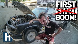 Street Driving (and Street Breaking) The Build & Battle Chevy S10 Drag Truck!