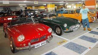 VINTAGE CAR FIESTA 2019 | Most expensive cars in India | RICH KIDS OF INDIA