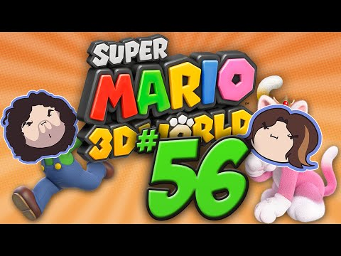 Super Mario 3D World: What a Ruckus! - PART 56 - Game Grumps