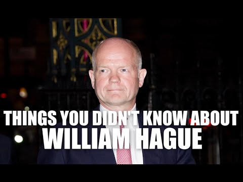 10 things you didn't know about William Hague