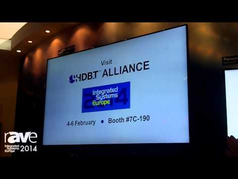 ISE 2014: HDBT Alliance Shares New Displays
