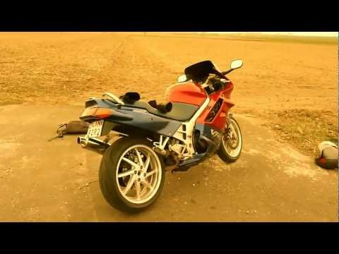 HONDA VFR 750 rc36 custom exhaust sound