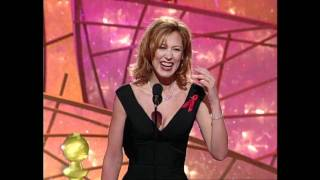 Christine Lahti Wins Best Actress TV Series Drama - Golden Globes 1998