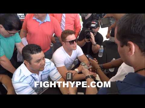 CANELO CONFIDENT HE CAN OUTTHINK MAYWEATHER INSIDE THE RING