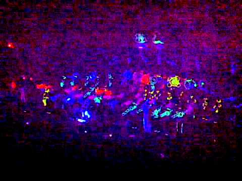 2010 Jonesville High School Band-O-Rama Glow Show