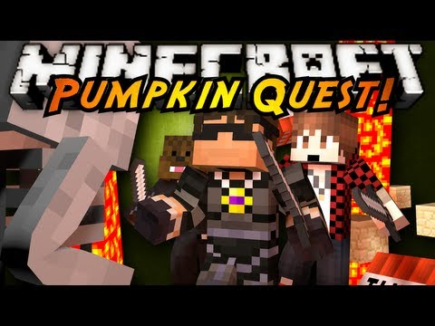 Minecraft: Pumpkin Quest Mystery of the Majestic Jewels Part 2!