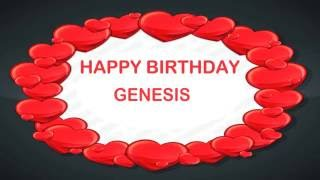 Genesis   Birthday Postcards & Postales