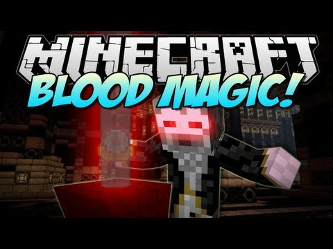 Minecraft   BLOOD MAGIC! (The Ultimate Evil Wizard!)   Mod Showcase [1.6.2]