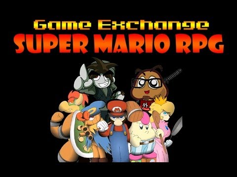 Super Mario RPG with Kirbopher, Game Exchange
