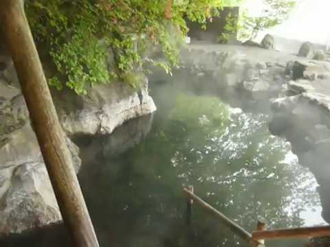 Japanese hot outdoor Spa Bath Rotenburo Japan Destination Management