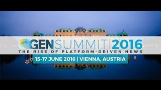 GEN Summit 2016 – Be part of the conversation