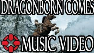 Skyrim: The Dragonborn Comes - Music Video
