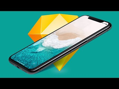 Designing for the iPhone X in Sketch