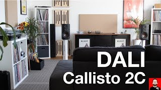 At home with the Dali Callisto 2C loudspeaker system