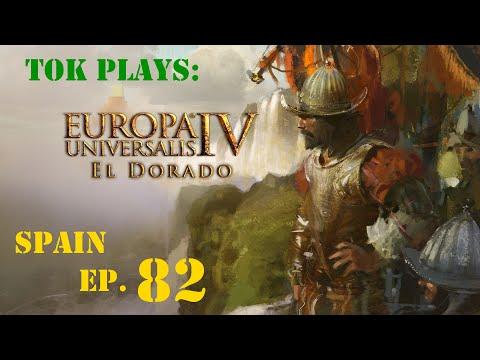 Tok plays EU4: El Dorado - Spain ep. 82 - Canal Ambitions