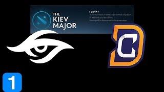 Secret vs DC Game 1  Kiev Major Highlights Dota 2