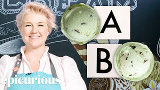 Ice Cream Expert Guesses Cheap vs Expensive Ice Creams | Price Points | Epicurious