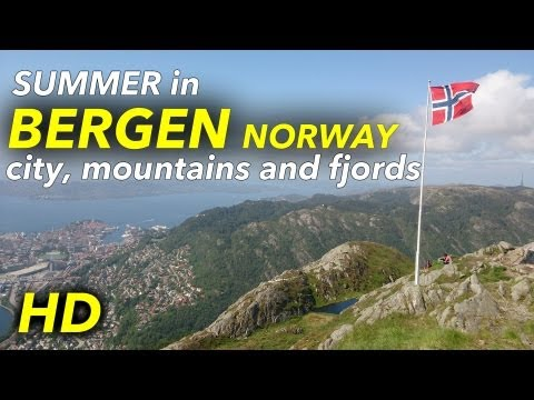 Best summer in Bergen and the fjords of Norway 2013! [HD] klip izle