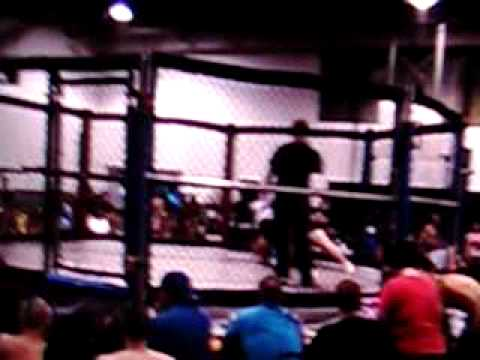Chris Brummett - Indiana Cage Fighting - TKO 1:06 - Bloomington, IN