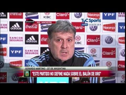 Gerardo Martino, en la previa ante Portugal: