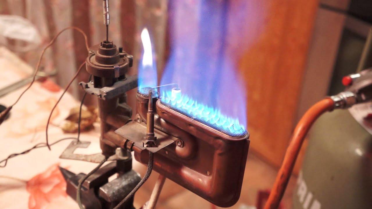 Как сделать газовую горелку
