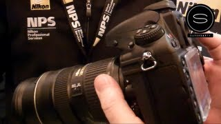 Nikon D800 - Live Demo - Broadcast Video Expo UK