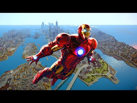Grand Theft Auto IV - Iron Man IV awesome [MOD] HD 1080p