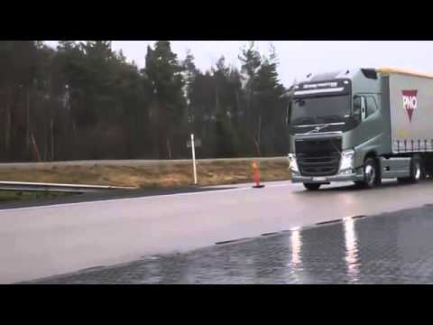 Удивительная тормозная система для грузовиков