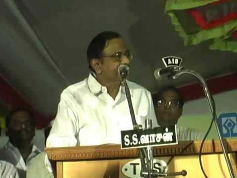 Finance Minister P.Chidambaram speech - Karaikkudi
