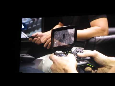 NVIDIA Project Shield - handheld gaming system wit