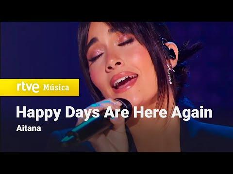 "Aitana - ""Happy Days Are Here Again"" (Los Goya 2021)"