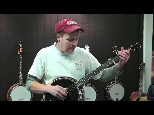 Zebrawood banjo