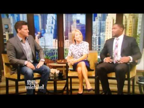 David Boreanaz on Live! With Kelly and Michael