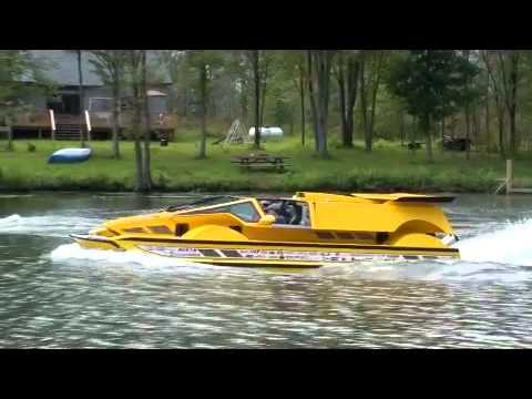 Dobbertin HydroCar - Water Test 3 - Amphibious Vehicle