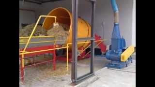 Brikettpresse pelletspress straw, sawdust, hay, rape, other, waste paper, triple line 1100-1800 kg/h