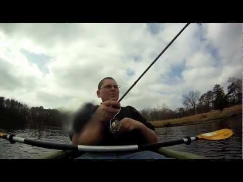 New Jersey Pickerel and Bass Fishing St. Patrick's Day