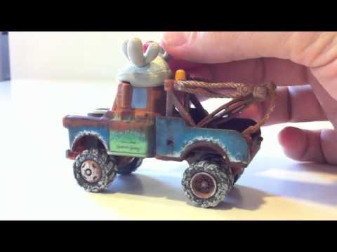 Cars 2 Mate navidada juguete miniatura Mattel