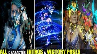 Mortal Kombat 11 - Showcase All Character Intros & Victory Poses - MK11