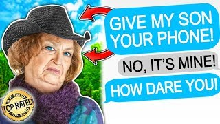r/EntitledParents ENTITLED FAMILY BREAKS MY NEW PHONE! | r/EntitledParents Top Posts All Time