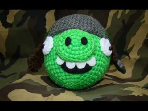 Cerdo Angry Birds Amigurumi : Angry Birds (Amigurumi) - YouTube
