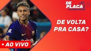 Neymar mais próximo do Barcelona e Coutinho na mira do PSG?   De Placa (13/08/2019)